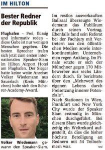 bester Redner Volker Wiedemann Persönlichkeitsentwicklung Leadership TV Experte Mehrwert Keynote