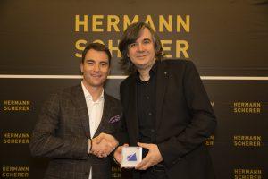 Imppressionen Award Redner Speaker Gewinner Volker Wiedemann Hermann Scherer