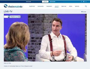 rheinmain_Talkshow Volker Wiedemann Keynote-Speaker Experte Mehrwert