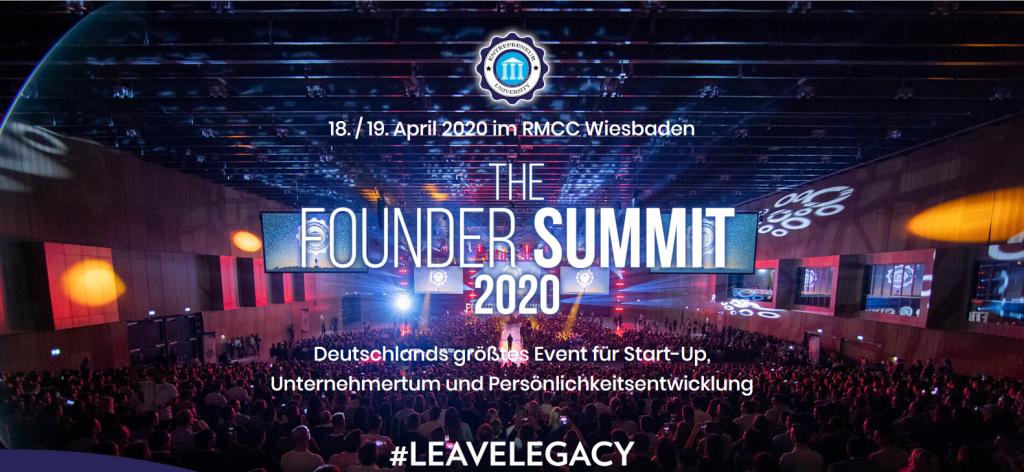 Founder Summit 2020 Volker Wiedemann Speaker Mehrwert